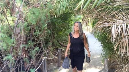 In the Palm Forest, Preveli Beach, Crete.
