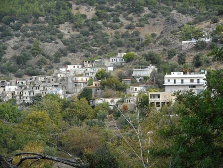 Kalami, Crete. A ghost town.