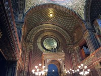 The Spanish Synagogue in Prague, Interior Shot